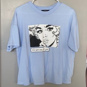 It's not me it's you graphic tee